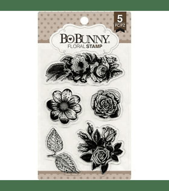 BoBunny Floral Stamp