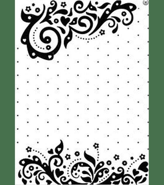 Vintasia Swirls with dots