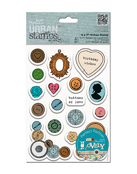 Urban Stamps Buttons