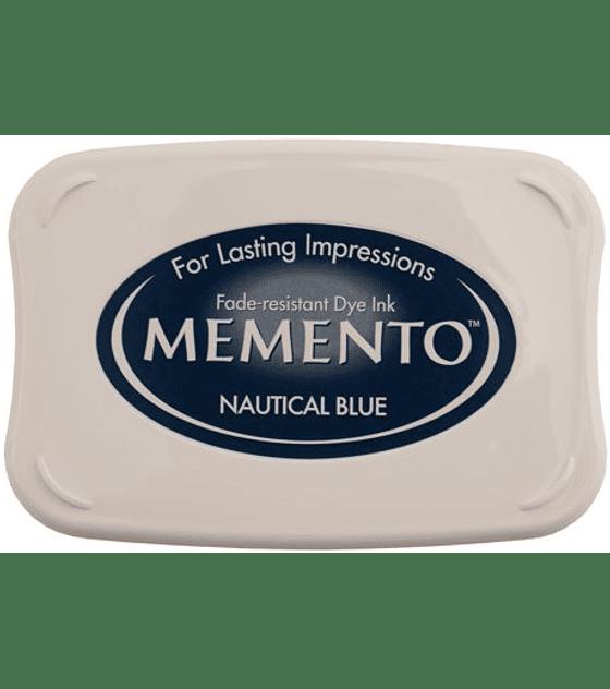 Memento almohadilla de tinta Nautical Blue