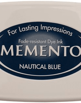 Memento almohadilla de tinta Nautical Blue
