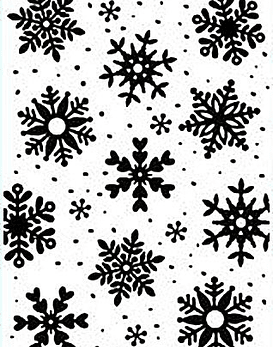 HS Embossing Folder Snowflakes