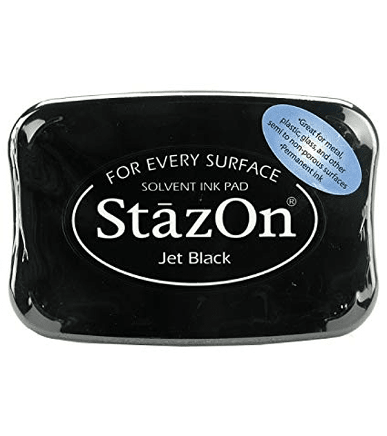 StazOn tinta Jet Black
