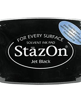 StazOn tinta Jet Black