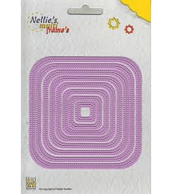 Nellies Straight Dotted Square