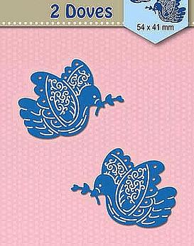 Shape Dies Blue Doves