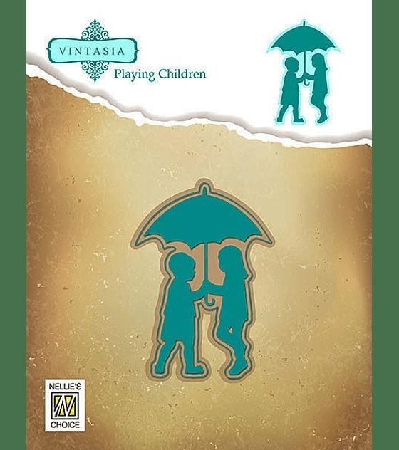 Vintasia Walking in the Rain