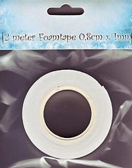 Nellie's Cinta adhesiva tipo goma eva de 1mm de grosor