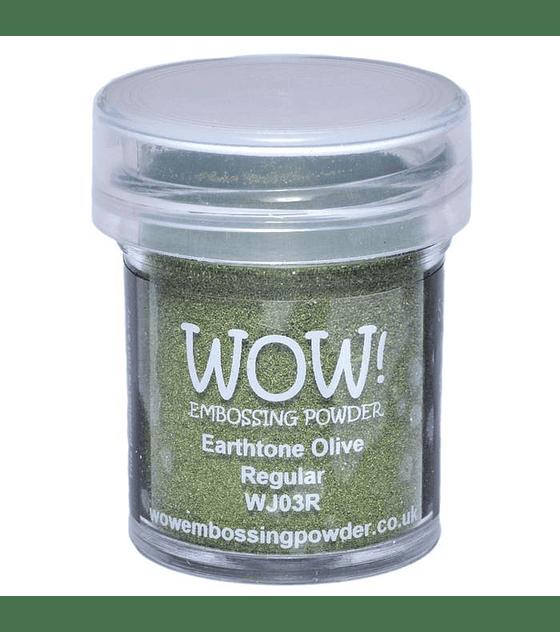 Wow polvos de embossing Earthtone Olive