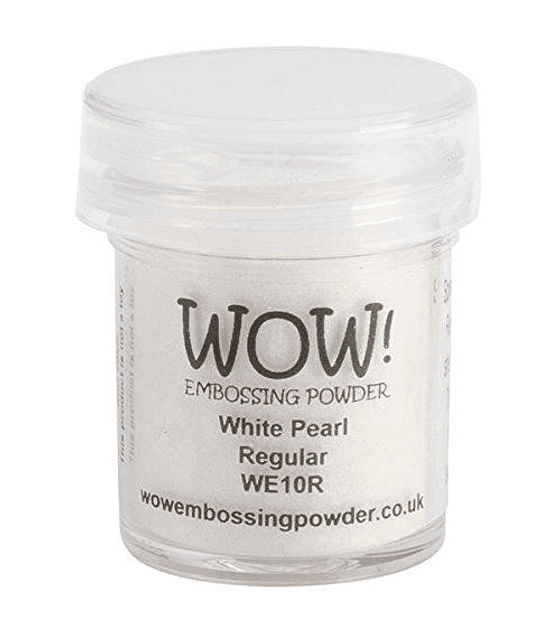 Wow polvos de embossing White Pearl