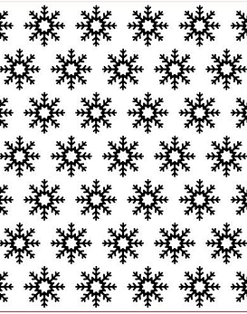 Nellie's texturizador  Snowflakes