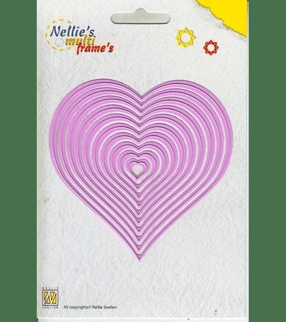 Nellies Choice Multi Frame Straight Heart