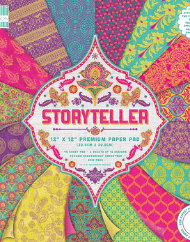 First Edition Storyteller 30x30cm