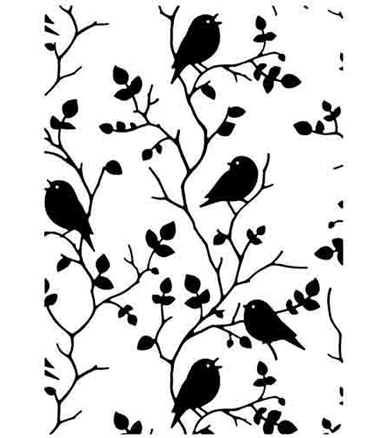 HS Texturizador Tree with birds
