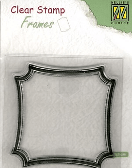 Nellie's Clear Stamp Frames Square
