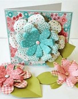 WeR Flower Punch Board