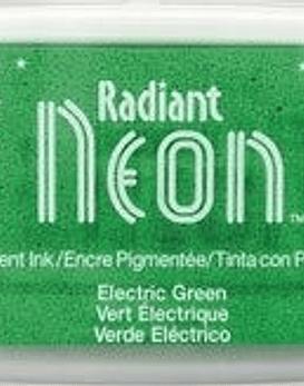 Almohadilla de tinta Neon color Verde