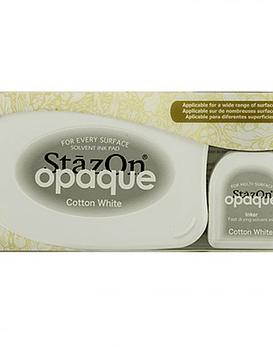 StaZon Inkpad Set color Blanco Opaco