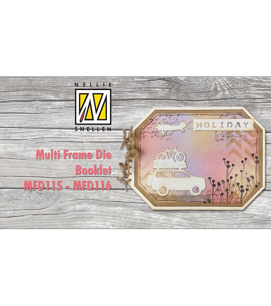 Nellie's Multi Frame Die Booklet-Rectangle