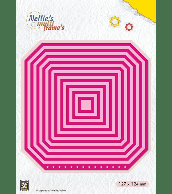 Nellie's Multi Frame Die Booklet-Square