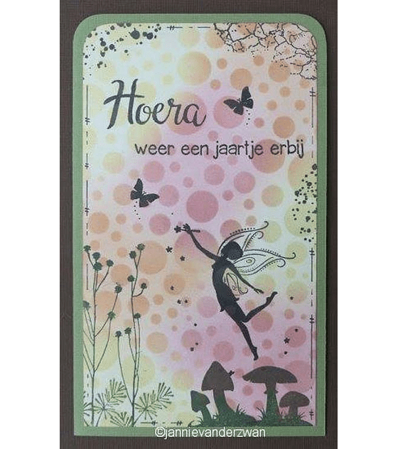 Nellie's Clear Stamp Fairy Tale 12