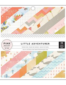 Pink Paisey Little Adventurer Girl 15x15 36hojas