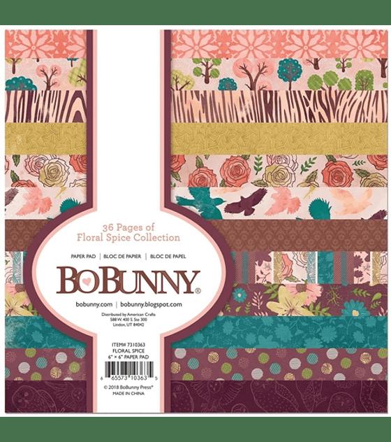 BoBunny Floral Spice Collection 15x15 36hojas