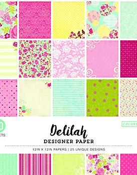 Delilah Designer Paper 30x30 50 hojas