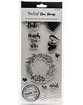 Bella Wedding Clear Stamps 2