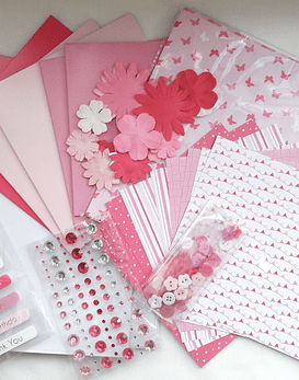 Dovecraft Goodie Bag Rosado