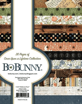 BoBunny Once Upon a Lifetime Collection 15x15 36hojas