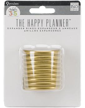 Happy Planner Discos dorados