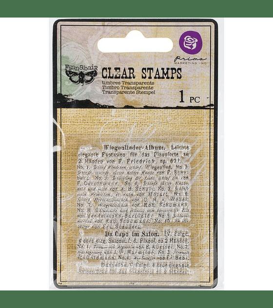Finnabair Clear stamp