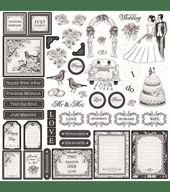 Feature Art Wedding DIe-Cuts