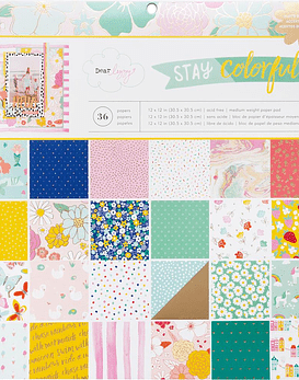 Paper Pack 30x30 Stay Colorful