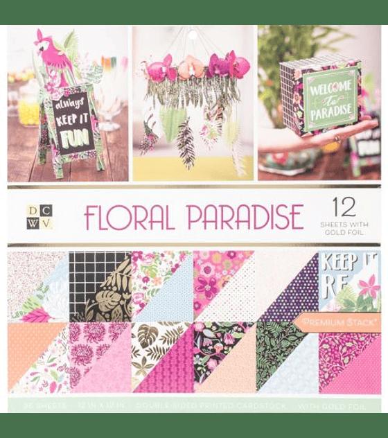 Paper Pack 30x30 Floral Paradise