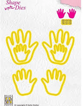 Shape Dies Baby Hands