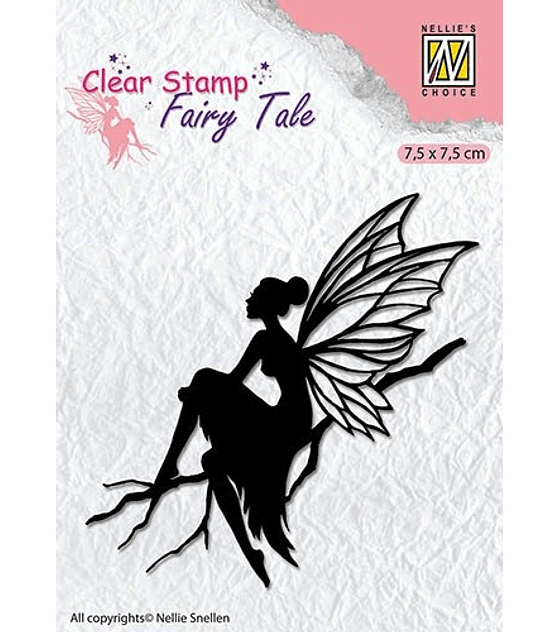 Nellie's Clear Stamp Fairy Tale #6