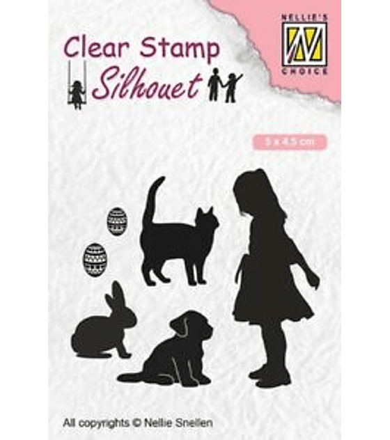 Nellie's Clear Stamp Animal Lover