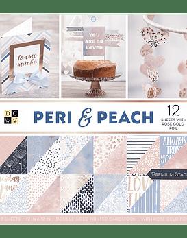 DCWV Papel 30x30 Peri & Peach