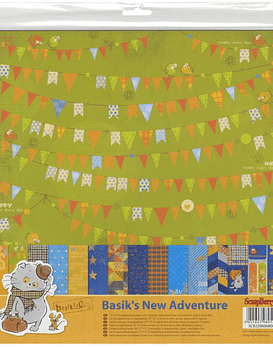 ScrapBerry's Basik's New Adventure Paper Pack