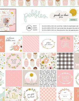 Peek-A-Boo Pebbles 30x30cm