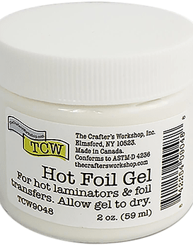 Crafter's Workshop Hot Foil Gel