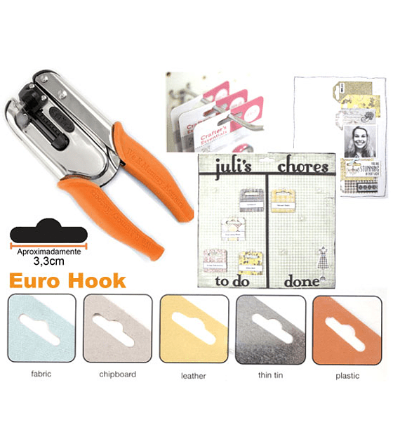 Crop-A-Dile Euro Hook Power Punch