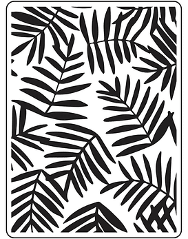 Darice Embossing Folder Ferns
