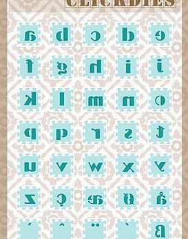Snellen Crafts Click Dies Alphabet 2
