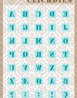 Snellen Crafts Click Dies Alphabet 1
