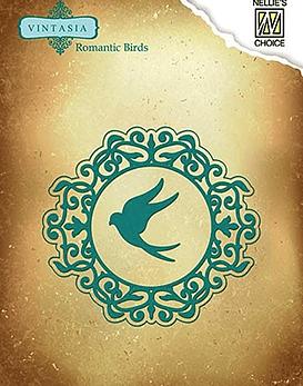 Vintasia Romantic Birds Round