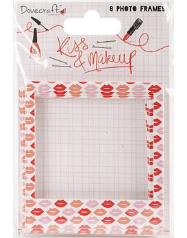 Dovecraft Kiss & Make Up Photo Frames