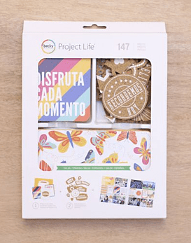 Project Life Salsa Spanish Value Kit